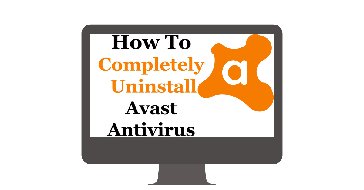 uninstall avast